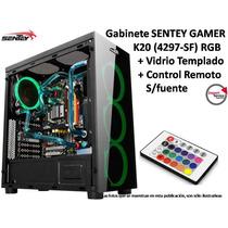 Gabinete Sentey Gamer K20 4297-sf Rgb Vidriotemplado Control