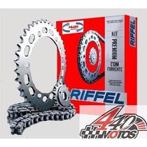 Kit Transmision Riffel Suzuki Ax 100 Motos440 $$$