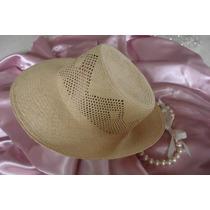 Sombrero De Dama Panamá Original Nuevo Sin Uso