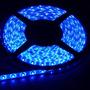Tira De Led Azul 3528 60led/m Exterior 5 Metros Siliconada