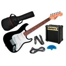 Combo Guitarra Electrica Fender Squier Niño Amplificador 10w
