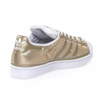 Adidas Superstar Doradas C/ Blanco (uk 6,5 ) ( Us 8 ) 2295