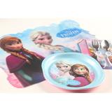 Set Frozen Disney!! Individuales , Cubiertos , Platos