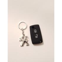 Llavero Peugeot + Funda De Llave Navaja 307 308 207 Gti