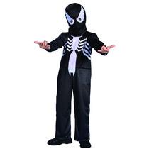 Disfraz Spiderman Negro Completo Original New Toys Jiujim