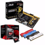 Combo Mother Asus Micro Amd Memoria Kingston 8gb Hyper X