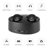 Auriculares Bluetooth Inalambricos In Ear Twins Microfono Android iPhone Manos Libres Microfono Base Cargadora