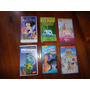 Lote De 6 Peliculas Infantiles De Disney En Vhs