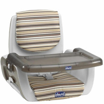 Silla De Comer Bebe Booster Chicco Mode- 3 Alturas-plegable