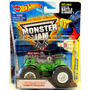 Monster Jam Grave Digger 100 % Mattel Hot Wheels