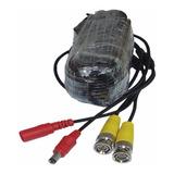 Cable Armados Para Cámara De Seguridad Cctv X 18 Mts