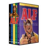 Alf Temporadas 1234 Audio Latino Serie Completa+pelicula Dvd
