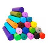 Colchoneta Mat Yoga Pilates Pvc Gimnasia Fitnes 180x60 X6mm