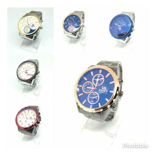 Relojes De Hombre Por Mayor 5 Unidades Combinados