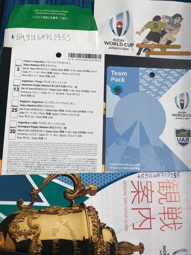 Entradas Mundial De Rugby Entrega En Japón Tokyo