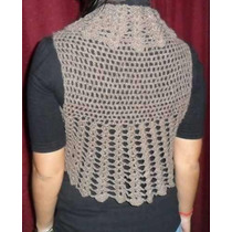 Chalecos Mujer Tejidos Lana Crochet