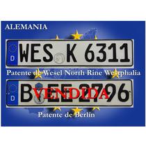 Antiguas Patentes Europeas Originales