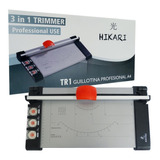 Cizalla Guillotina Rotativa Portatil Cortadora 3 En 1 A4 Pro