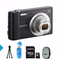 Sony W800 + Memoria 8gb+ Funda+ Lector+ Tripode + Envio S/c