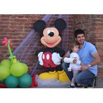Figuras Corporea De Mickey Y Minnie En Tergopol De Alta Dens