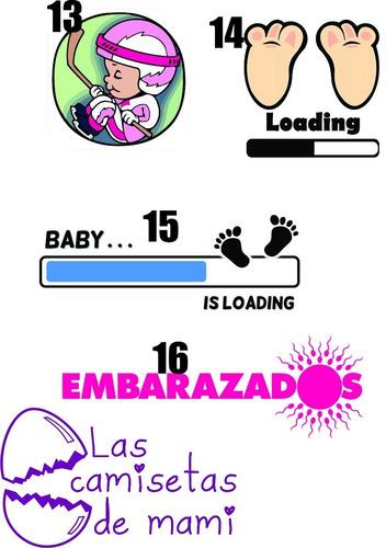 95de9f2ee Remeras Embarazadas-futura Mama-baby Shower Personalizadas en venta ...