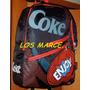 Coca Cola Mochila 17¨ Bolso Cartera Morral Vintage Retro