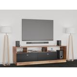 Mesa Tv Led 1.50 Moderno Mueble Rack Lcd Modular Melamina