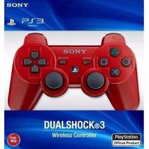 Joystick Sony Dualshock Ps3 Color Blister Sellado Local Orig