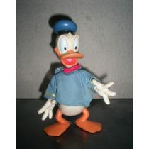 Pato Donald Muy Antiguo Muñeco Con Traje De Tela Disney
