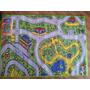 Carpeta Alfombra Infantil Pista Calles 100x140cm Decor