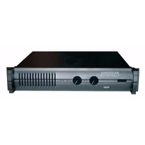 Potencia Apx 800-american Pro(410w + 410w / 4 Ohm)fervanero