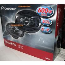 Parlantes Pioneer 6x9 600w Pentaxiales(5vias)