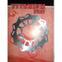 Xtz 125 Yamaha Disco Freno Delantero 220mm Titanium Pro