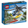 Lego City 60067 Set Persecucion En Helicoptero Original