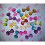 Apliques Moños Moñitos Party Candy Bar Golosinas Porcelana