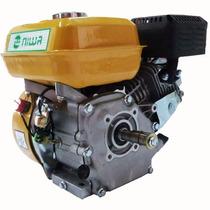 Motor A Explosion Nafta Niwa 6,5hp 4 Tiempos Eje Horizontal