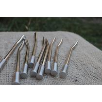 Bombillas Bronce Niqueladas Pack 30 U - $ 3,10 C/u -