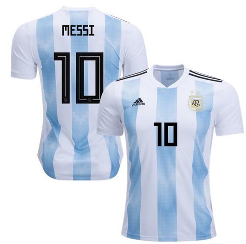 f433ddc2b9 Camiseta Argentina Messi Mundial 2018 Climalite Original