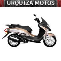 Scooter Gilera Qm 125 New 0km Urquiza Motos