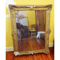 Espejo En Marco Antiguo A Restaurar Art 288