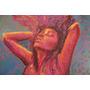 Obra Color/pasión -pintura- Acrílico S/lienzo- 44x51 Cm
