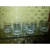 6 Vasos De Whisky Y Hielera Original Diseño
