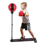 Pera De Boxeo Set Infantil Guantes Punching Ball Juegos