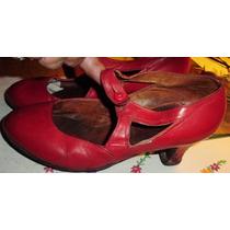 Zapatos Baile 28/29- Españoles-folcklore Cuero
