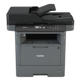 Impresora Multifunción Brother Dcp-l5 Series Dcp-l5650dn 110v Gris Y Negra