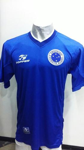 bcd73ea7c2 Camiseta De Cruzeiro De Brasil Utileria Espectacular Unica