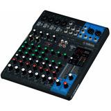Yamaha Mg10xu Consola Mixer 10 Canales Efectos Nuevo Gtia