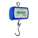 Balanza Industrial Digital Colgante Systel Pilon Ps 300 Kg 110v/220v Azul