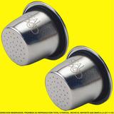 Capsulas Recargables Para Nespresso Sealpod De Acero Inox X2