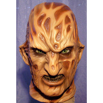 Mascara De Latex Freddy Kruegger Disfraz Halloween, Fredy